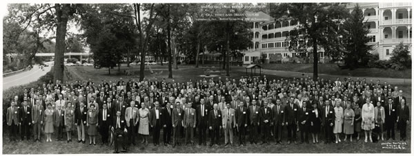 The Second Decennial Review Conference on Cell Tissue and Organ Culture, September 14, 1966, Bedford Springs Hotel, Bedford, Pennsylvania